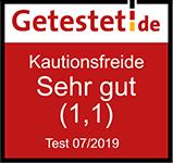 getestet.de Siegel kautionsfrei.de